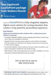 Lippincott CoursePoint+ for Ricci, Kyle & Carman: Maternity and Pediatric Nursing. 12 Month Access Code