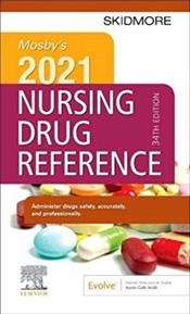 Mosbys 2021 Nursing Drug Reference. Text with Access Code Cover Image