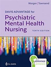 Davis Advantage for Psychiatric Mental Health Nursing. Text with Access Code Cover Image