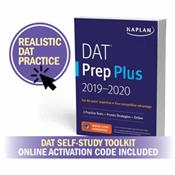 DAT Prep Plus: Self-Study Toolkit