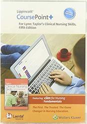 Lippincott CoursePoint+ 4.0 for Lynn: Taylor's Clinical Nursing Skills: A Nursing Process Approach. 24 Month Edition