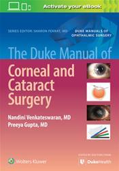 Duke Manual of Corneal and Cataract Surgery
