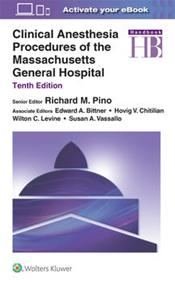 Clinical Anesthesia Procedures of the Massachusetts General Hospital. Text with Access Code Cover Image