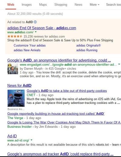 Identity Theft: Google Hijacks Madison Avenue's AdID 09/19/2013
