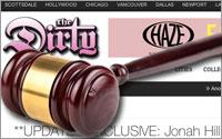 Thedirty.com with gavel