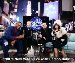 ABC, NBC, CNN, Fox News, Fuse And Nivea: A New Year's Eve TV