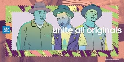 Adidas Unite All Originals campaign