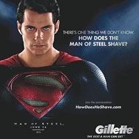 Gillette's Man of  Steel