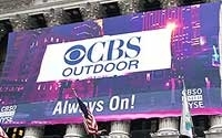 CBS Outdoor at the NYSE