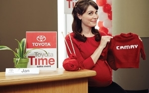 Toyota And Saatchi Write Ad Star's Pregnancy Into Popular 'Jan ...