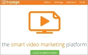 Tvpage Lets Brands Create Video Content Channels On Web Sites