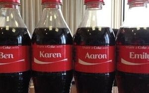 List Of Names On Coke Bottles 2020.Share A Coke Bottles Campaign Hit U S 06 13 2014