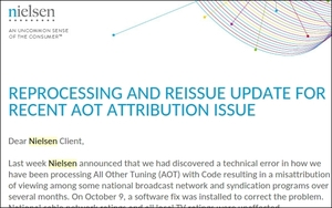 Nielsen To Reprocess All Ratings Affected By Glitch, Begins