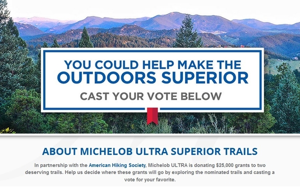 Michelob Ultra Partners With American Hiking Society 09 02 2015 59527c40f