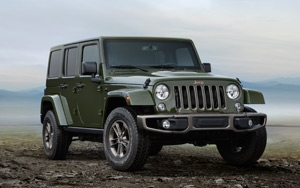 Jeep Goes Olive Green With 75th Anniversary Editions 01 07 2016
