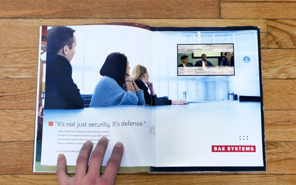 Forbes Features Print Ad With Video Player