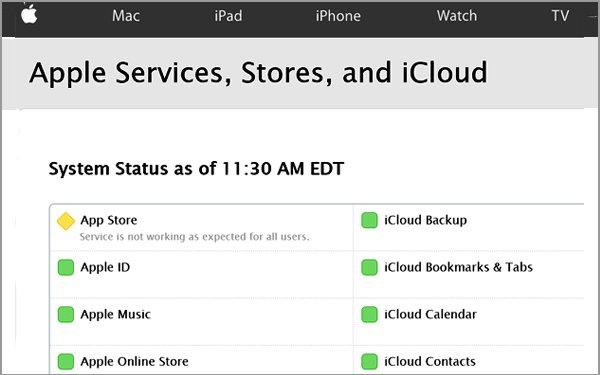 Apple's App Store Hits Search Glitch 05/06/2016