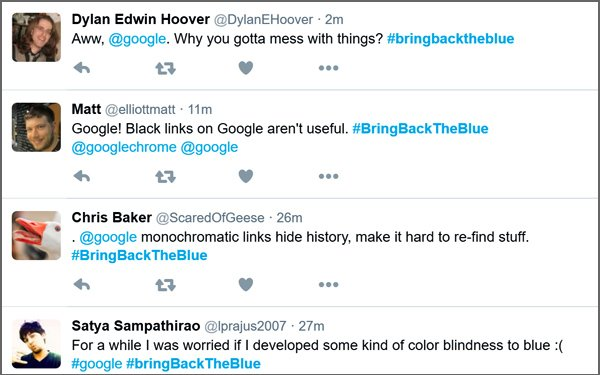 Google Tests Black Hyperlink In Search Results, Users ...