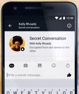 how to find secret conversations on facebook messenger