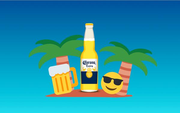 Corona Extra's New Emoji Campaign 08/19/2016