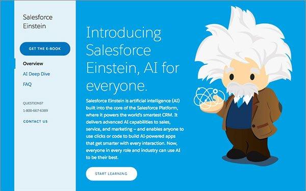 Salesforce Reveals 'Einstein' Details, Becomes Less