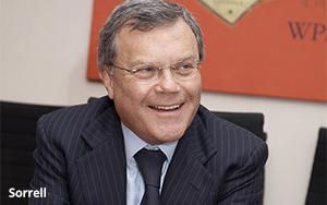 Sorrell: Facebook May Be WPP's No. 2 Supplier Next Year