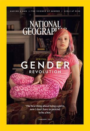 'Nat Geo' Explores Gender Options, Puts 9-Year-Old Transgender Girl On Cover