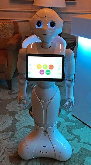 Pepper The Robot Looks To Engage Customers 01 09 2017