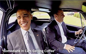 Crackle, Snapped: 'Comedians In Cars' Drives To Netflix 01