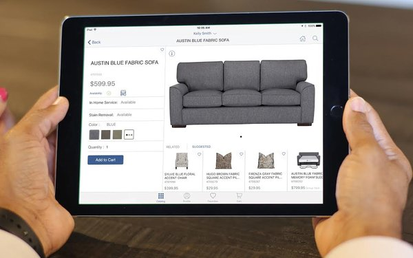 ... From A Mainframe Computer System To An IPad In Store Sales Tool, IBM  Has Partnered With Apple To Bring City Furniture, A Privately Owned South  Florida ...