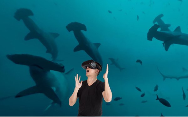 Discovery Promotes Shark Week With VR Ad On Homepage 08/02/2017