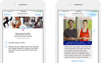 Michelob Ultra Offers Workout Bot  Three Olives Rewards Tinder Users Via  iBotta 3d8a95d7c