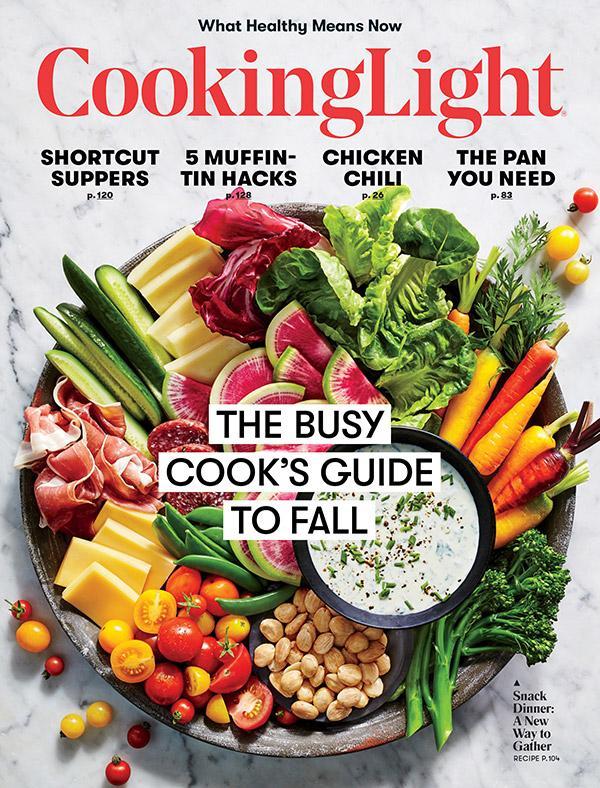 Cooking Light Redesigns, Sharpens Edit Focus
