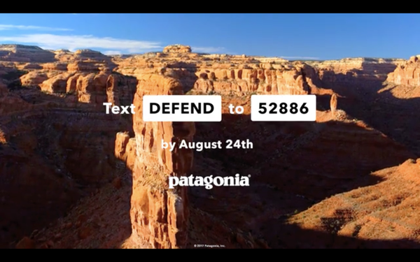 In First-Ever TV Ad, Patagonia Targets Trump Administration