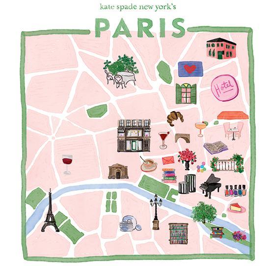 Kate Spade Takes Virtual Reality Campaign To Paris Celebrating