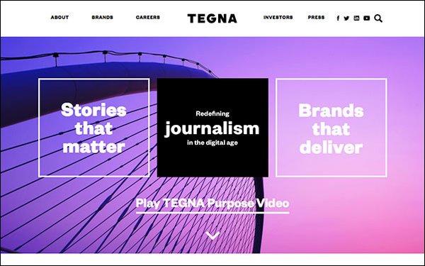 Tegna Posts Q3 Revenue Declines