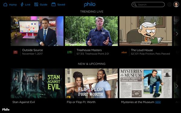 Streaming vMVPD Philo Eliminates Cheapest Package