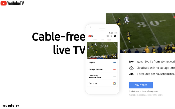 YouTube TV Expands Nationwide, Covering 98% Of The U.S.