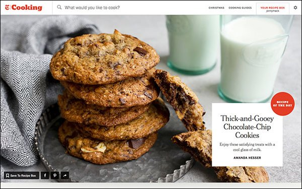 NYT Cooking' Site Gains 23,000 Subscribers Since Launch 12
