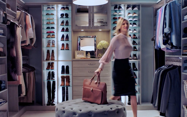The Humble Closet Gets An Inspirational Makeover