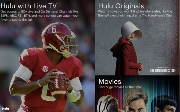 Hulu Looks To Take On YouTube And Facebook With Shorter Videos 01/12