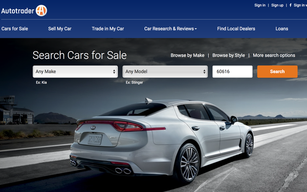 Autotrader Aims To Bring More Trust Speed Online Car Shopping