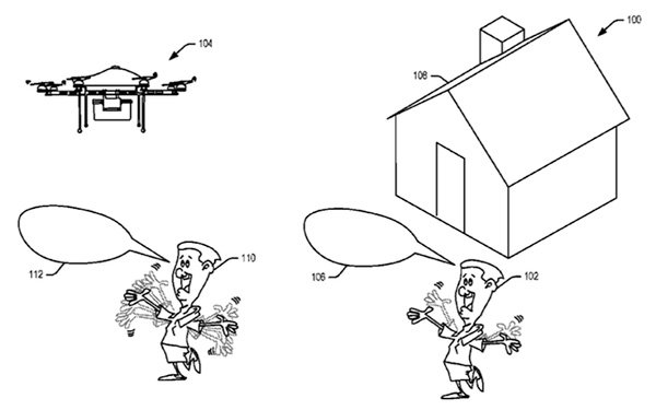 Amazon patents delivery drones that can recognise 'unwelcoming' hand gestures
