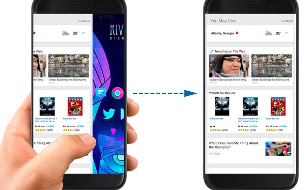 Taboola Embeds Newsfeed On Android Phones, Wants To Be