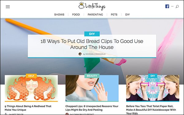 RockYou Media Relaunches \'LittleThings\' Site 04/20/2018