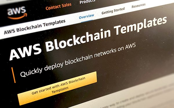 Amazon Intros Blockchain Templates 04 23 2018
