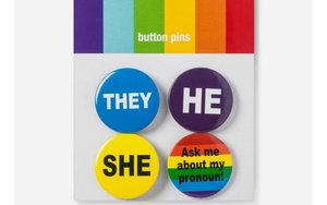 """on sale aa00b bd70c Marketers are gearing up for Pride Month, and this year, expect to see the  usual rainbows and lavender unicorns sprinkled with plenty of """"he,"""" """"she""""  and """" ..."""