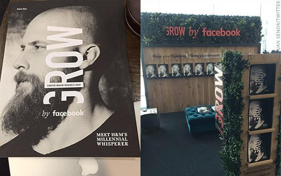 "Facebook Launches Print Magazine ""Grow,"" Says It's Not a Magazine"