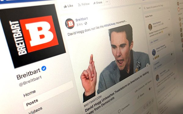 Critics Charge Facebook Too Lenient On Controversial Conservative