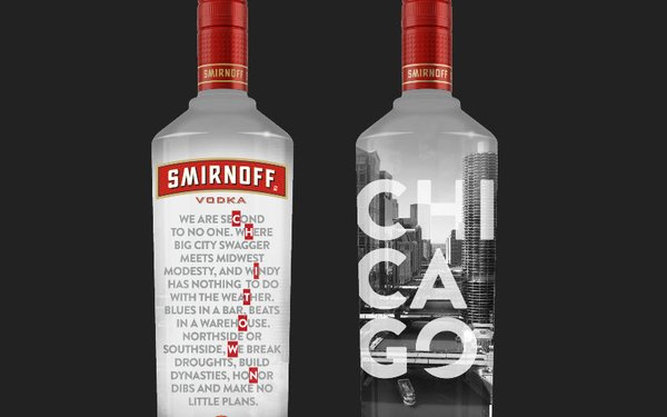 limited edition smirnoff vodka